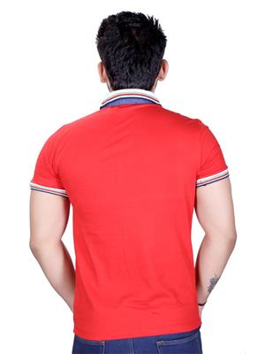 STRAK TS987654 Red Men T-Shirt