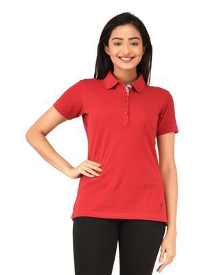 Tsgbliss-2021C-Blood Red Women T-Shirt
