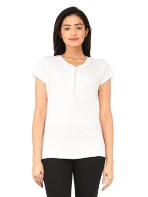 Tsgbliss-2041-White Women T-Shirt