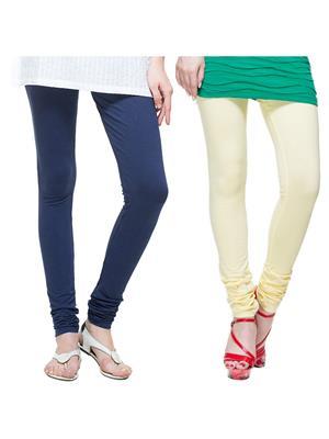 Tsg Bliss C14 Multicolored Women Leggings Set Of 2