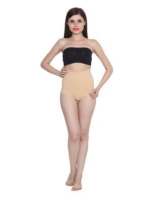 Ansh Fashion Wear Tucker-29130 Beige Women Shapewear