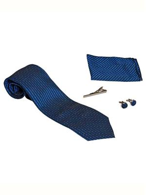 Won Fashion Tailors Casual 16 Blue Men Necktie
