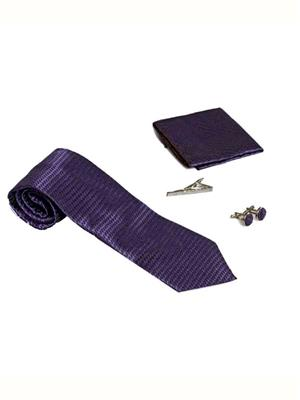 Won Fashion Tailors Casual 19 Purple Men Necktie