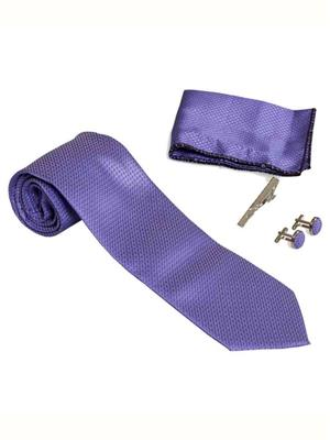 Won Fashion Tailors Casual 27 Purple Men Necktie