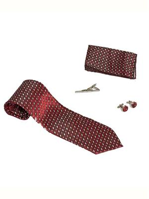 Won Fashion Tailors Casual 28 Red Men Necktie