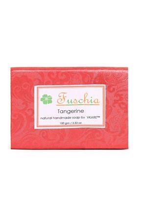 Fuschia Tangerine Natural Handmade Glycerine Soap