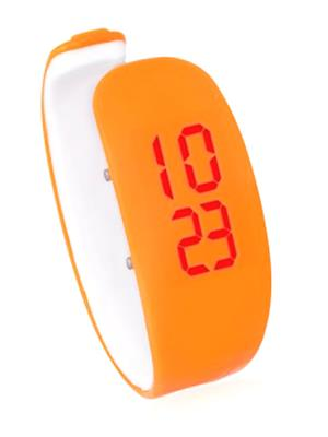 Todayin 0040 Orange Women LED Watch