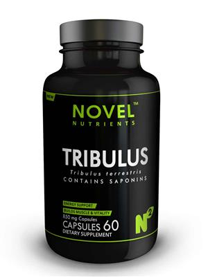 Novel Nutrients Tribulus 850 mg 60 Capsules Muscle Booster