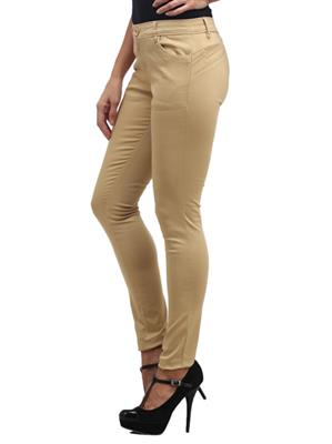 Hash 69 H 706 Brown Womens Trousers