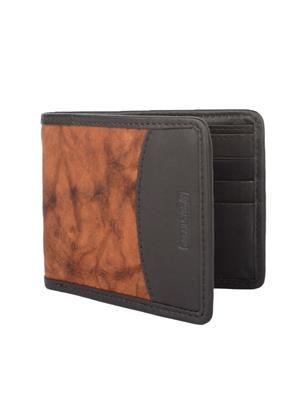 Urban Gypsys UGLW003 Black Men wallet