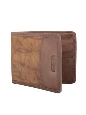 Urban Gypsys UGLW005 Brown Men wallet