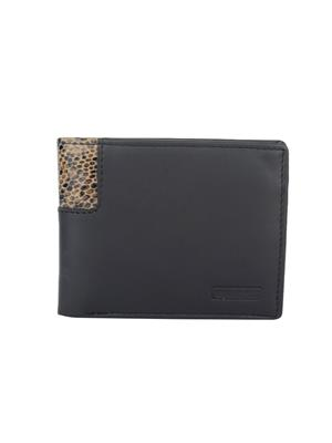Urban Gypsys UGLW006 Black Men wallet