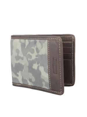 Urban Gypsys UGLW007 Grey Men wallet
