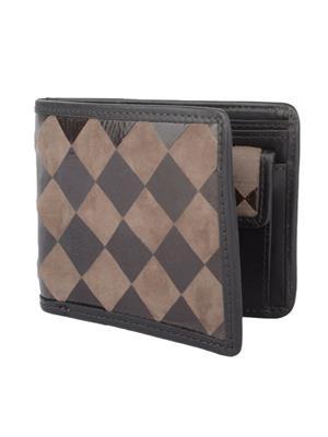 Urban Gypsys UGLW009 Black Men wallet