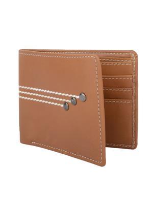 Urban Gypsys UGLW011 Brown Men wallet