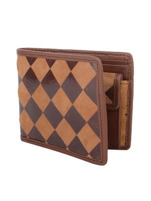 Urban Gypsys UGLW012 Brown Men wallet