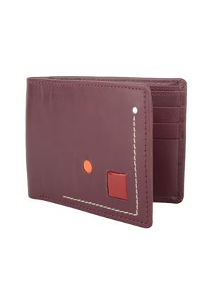 Urban Gypsys UGLW014 Maroon Men wallet