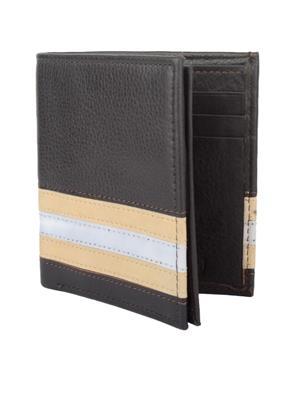 Urban Gypsys UGLW016 Black Men wallet