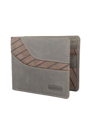 Urban Gypsys UGLW017 Grey Men wallet