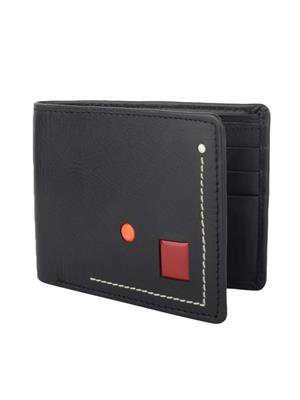 Urban Gypsys UGLW018 Black Men wallet