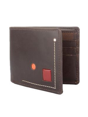 Urban Gypsys UGLW021 Brown Men wallet