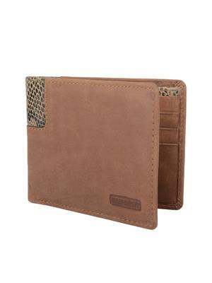 Urban Gypsys UGLW022 Brown Men wallet