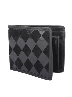 Urban Gypsys UGLW023 Black Men wallet