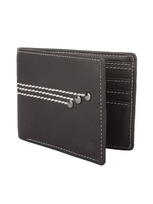 Urban Gypsys UGLW025 Black Men wallet