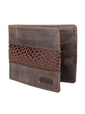 Urban Gypsys UGLW027 Brown Men wallet