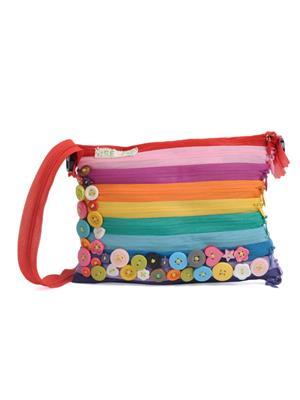 USE ME UMSB19 Women Multicolor Sling Bag