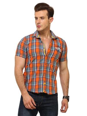 Urge U2022A Checkered Mens shirt