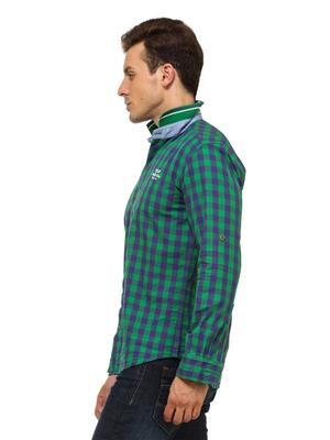 Urge U2078B Checkered Mens Shirt