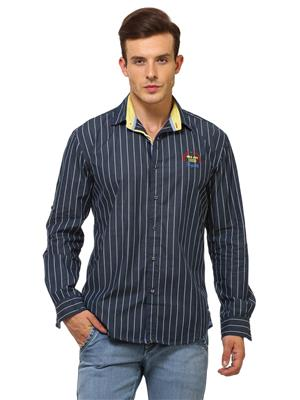 Urge U2093B Navy Blue Mens Shirt