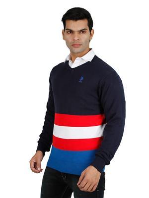 U-S Polo  Uspa-Navy Men Sweater