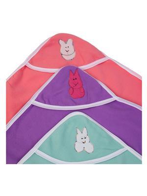 UTC GARMENTS UTC0302 Multicolored Hooded Baby Blanket Combo Pack