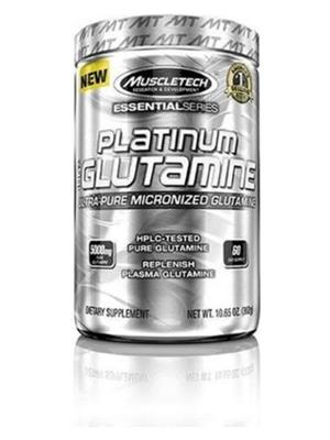 MUSCLETECH 100% ULTRA PURE GLUTAMINE/300 Gm Unflavored