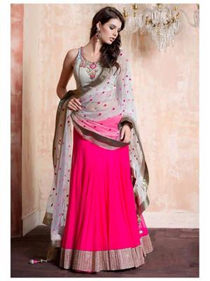 KIAN V-XXJIGO600 Multi Color Net Designer Women Lahenga Choli