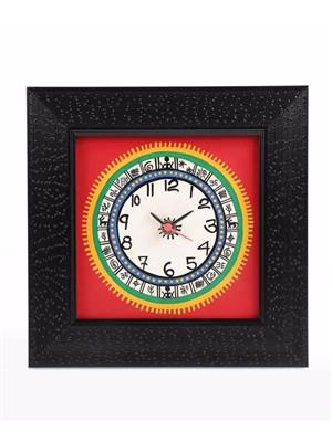 VarEesha VACC002 Multicolored Wall clock