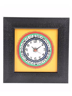 VarEesha VACC003 Multicolored Wall clock