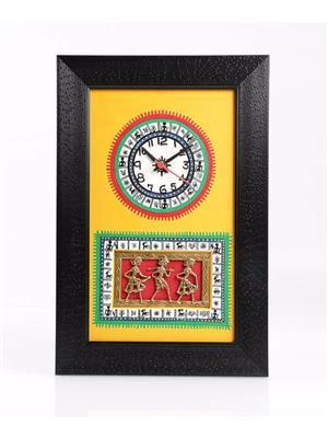VarEesha VACC006 Multicolored Wall clock