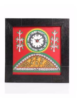 VarEesha VACC009 Multicolored Wall clock