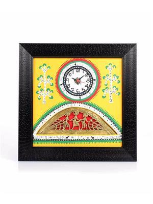 VarEesha VACC010 Multicolored Wall clock