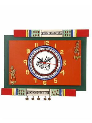 VarEesha VACC012 Multicolored Wall clock