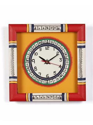 VarEesha VACC017 Multicolored Wall clock