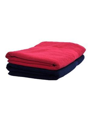 V Brown Vb2Bt002 Multicolored Bath Towel Set Of 2