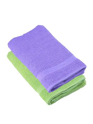 V Brown Vb2Bt028 Multicolored Bath Towel Set Of 2