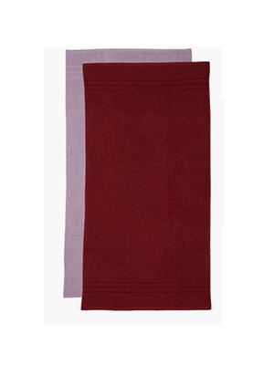 V Brown Vb2Bt034 Multicolored Bath Towel Set Of 2