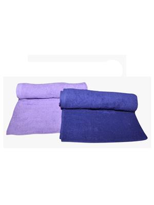 V Brown Vb2Bt045 Multicolored Bath Towel Set Of 2