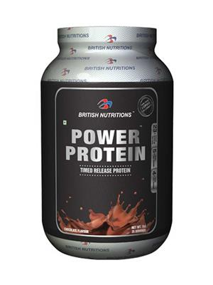 British Nutrition Vb592 Power Protein Chocolate Flavour 1Kg