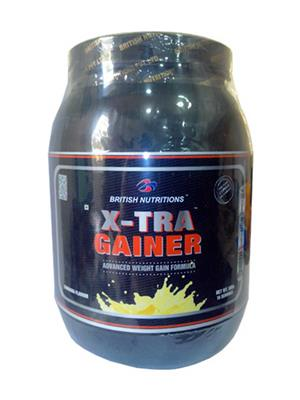 British Nutrition Vb608 Extra Gainer Banana Flavour 500G